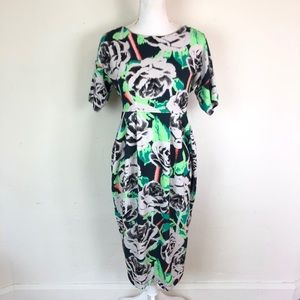 ASOS Maternity Floral Stretchy Dress Size 2